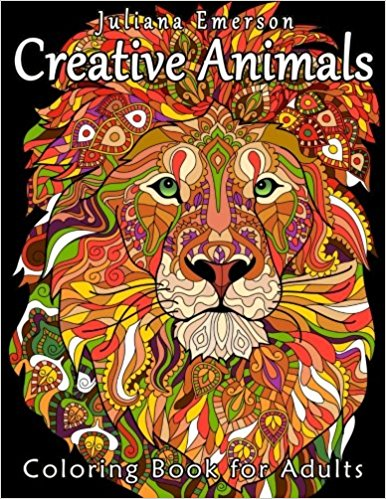Creative Animals Coloring Book For Adults Happy Coloring Books