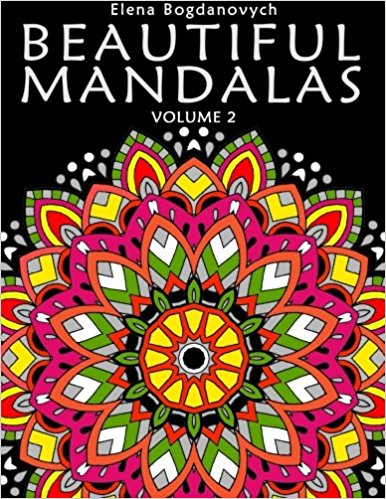 Beautiful Mandalas Volume 2 Coloring Book For Adults Happy Coloring Books