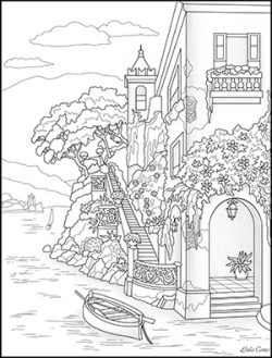 Blank map of Italy coloring page - Print. Color. Fun! | 329x250